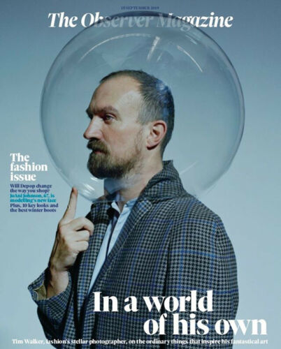 OBSERVER magazine 15 September 2019 Tim Walker cover and interview JoAni Johnson