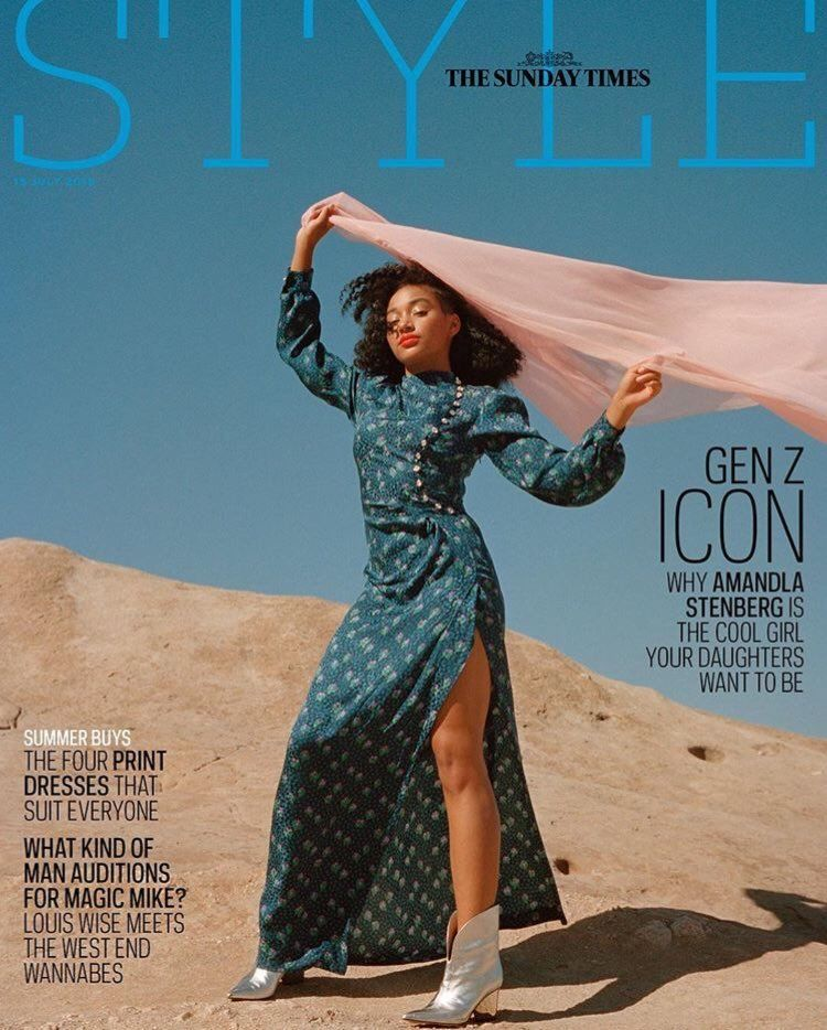UK Style Magazine July 2018: AMANDLA STENBERG COVER INTERVIEW