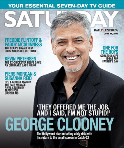 Saturday Magazine June 2019: GEORGE CLOONEY Niall Horan MARI WILSON Faye Brookes