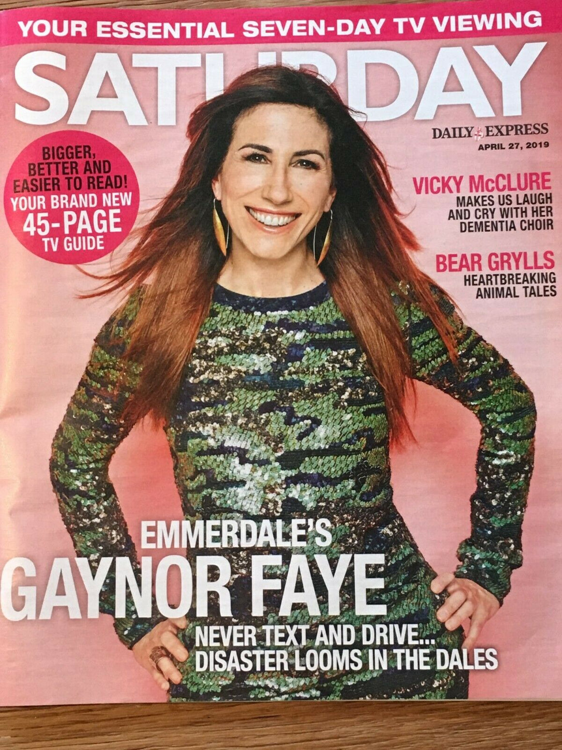 UK SATURDAY Mag 04/2019: GAYNOR FAYE Bruce Hornsby GRATEFUL DEAD Liam Charles