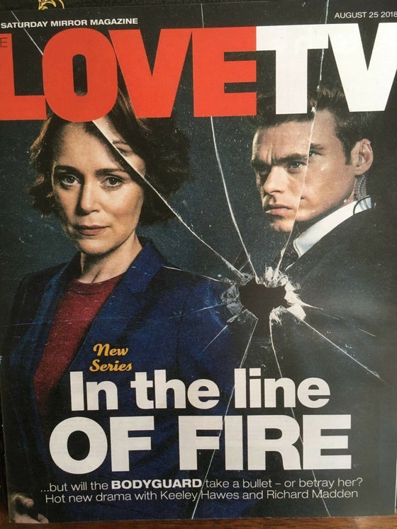 LOVE TV Magazine 08/2018: KEELEY HAWES Richard Madden DAVID MITCHELL
