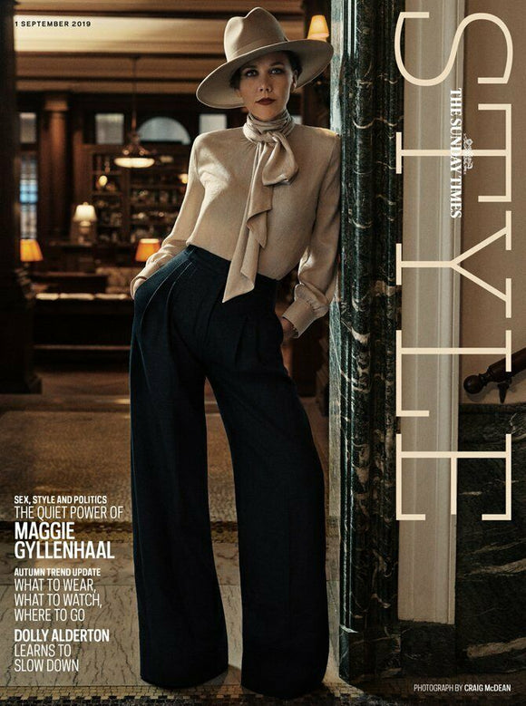 UK STYLE Magazine September 2019: MAGGIE GYLLENHAAL COVER AND FEATURE