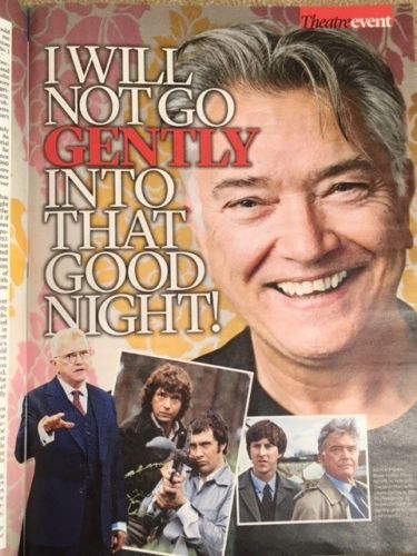 MARTIN SHAW Photo Interview UK EVENT MAGAZINE February 2018