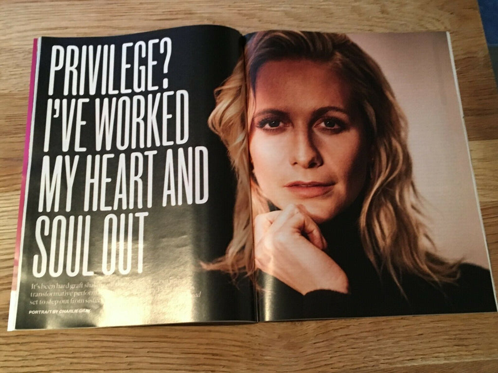 UK SUNDAY TIMES Magazine June 2019: POPPY DELEVINGNE interview CARA WILL YOUNG