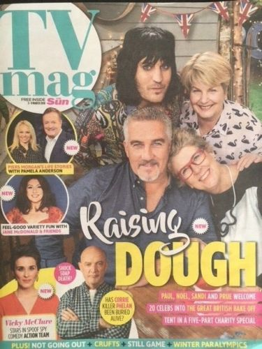 SUN TV Magazine March 2018 NOEL FIELDING Martin Kemp Jennie McAlpine Fiona Wade