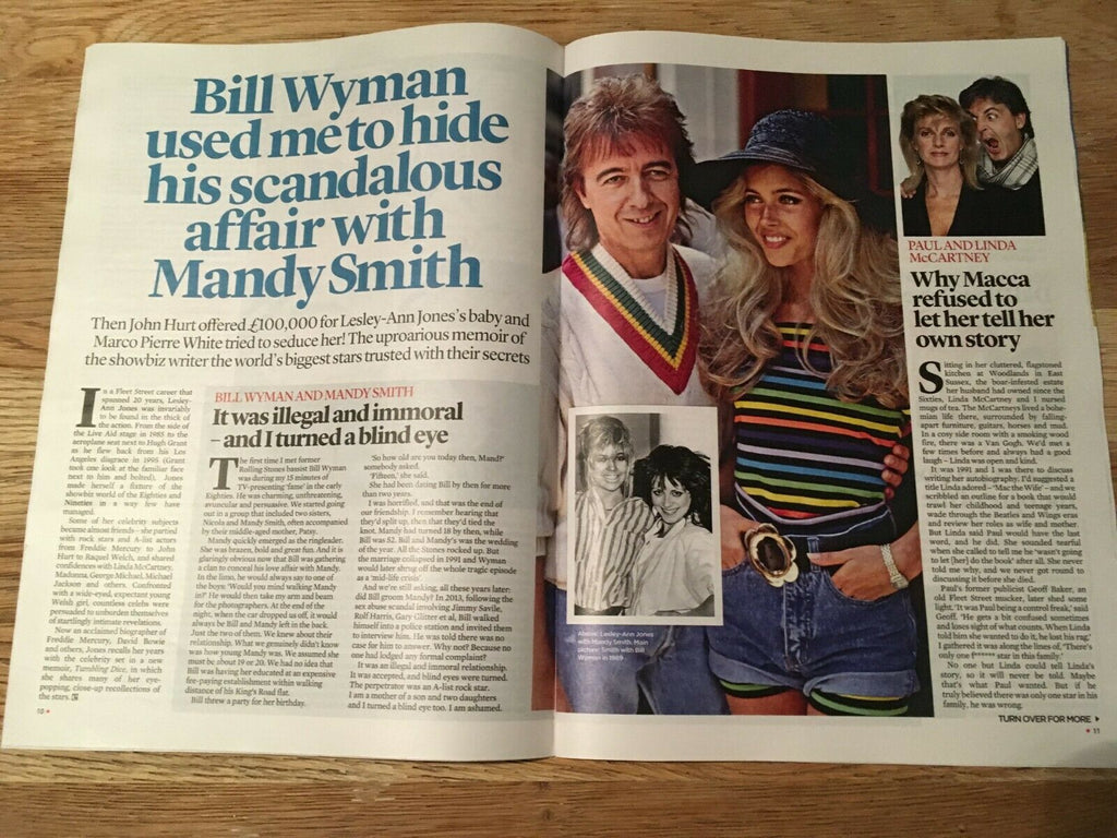UK EVENT magazine 04/2019 MANDY SMITH Paul McCartney CILLIAN MURPHY Raquel Welch
