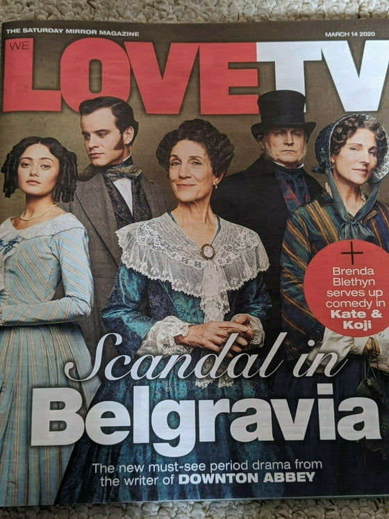 LOVE TV Magazine 03/2020 PHILIP GLENISTER Jeremy Neumark HARRIET WALTER