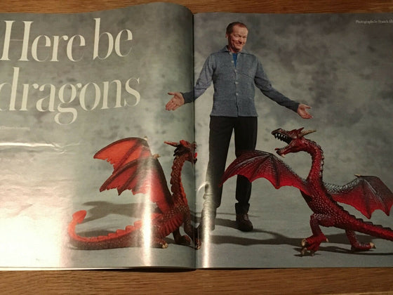 The Telegraph Magazine (23 March 2019) Iain Glen Interview - Princess Diana