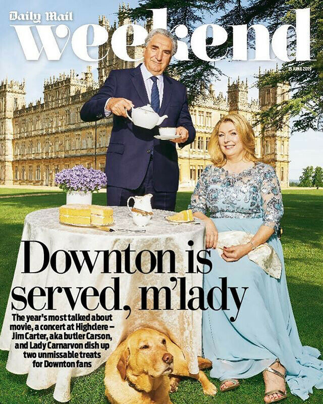 WEEKEND magazine 15 June 2019 - Downton Abbey (Jim Carter) Cover + interview