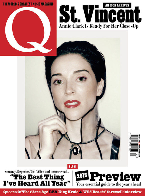 Q magazine February 2018 St. Vincent Manic Street Preachers David Crosby