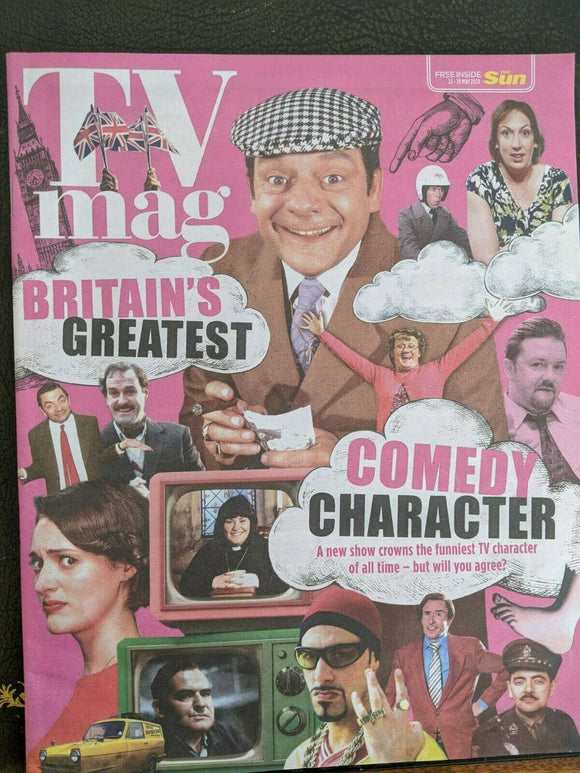 SUN TV Magazine 05/2020: DAWN FRENCH Miranda Hart MICHAEL CRAWFORD Waller-Bridge