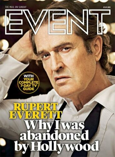 UK Event Magazine July 2019: Rupert Everett Cover + Interview - Janelle Monae