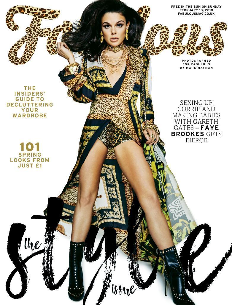 Fabulous Magazine Feb 2018 FAYE BROOKES COVER INTERVIEW TALLIA STORM