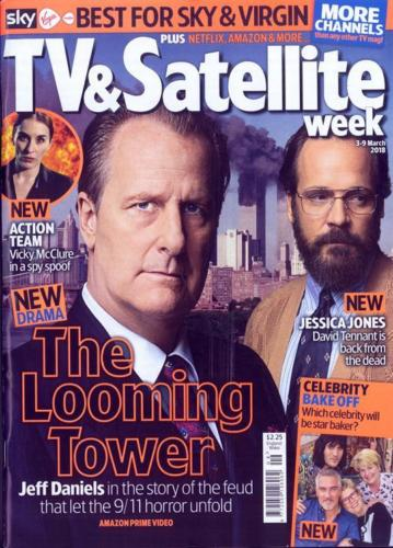 TV & Satellite Magazine 3 March 2018 Jeff Daniels Gary Oldman Giovanni Ribsi