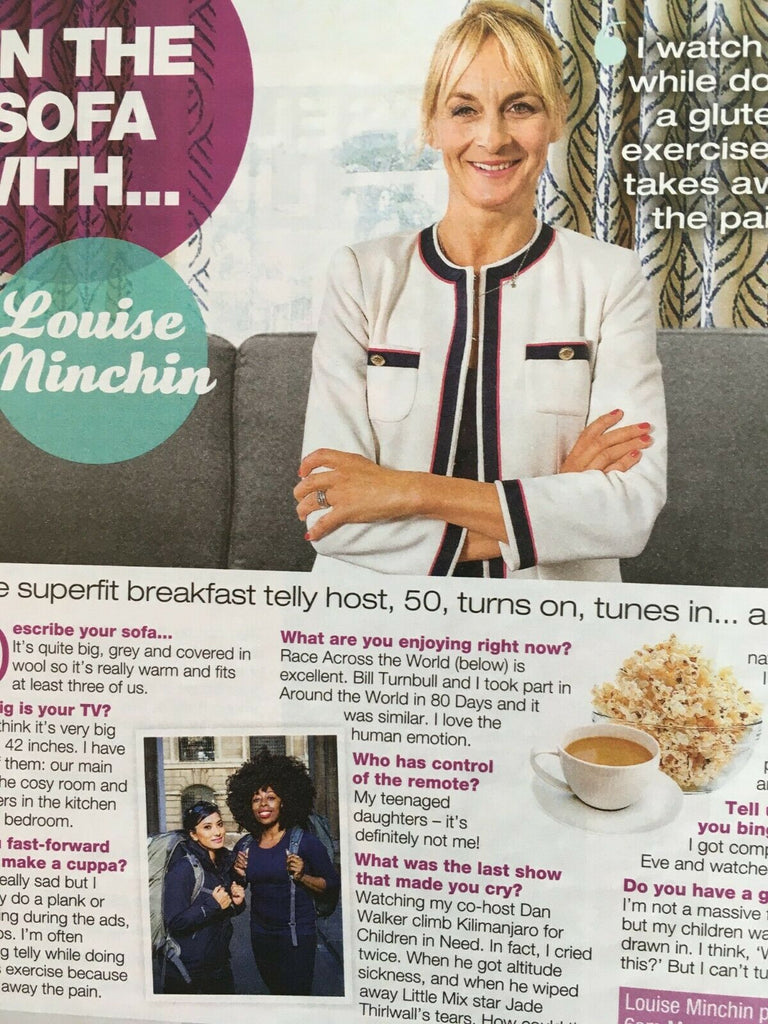 LOVE TV Magazine 04/2019: KEELEY HAWES Louise Minchin KELLY MACDONALD Durrells