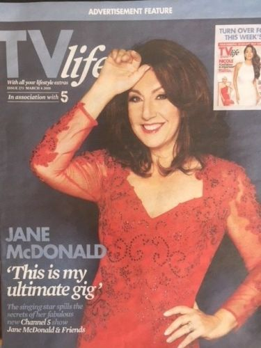 TV LIFE MAGAZINE March 2018 Nicole Scherzinger Jane McDonald Kristina Rihanoff