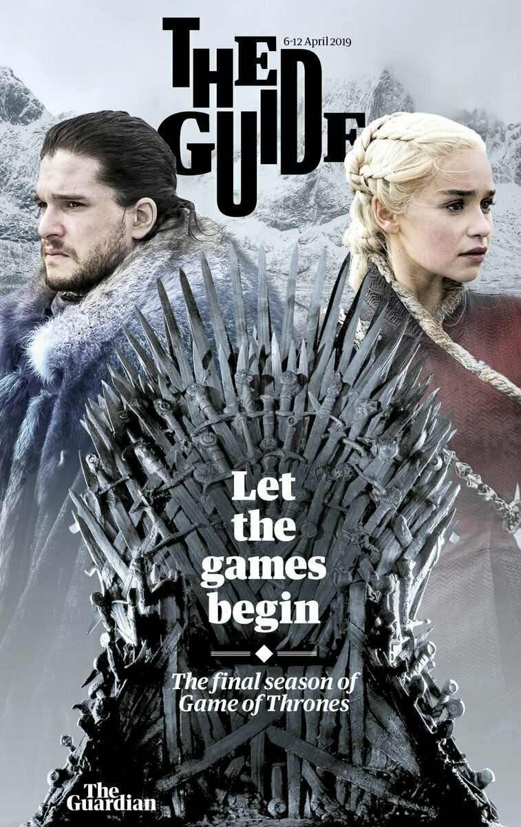 UK GUIDE magazine April 2019: Game of Thrones cover and exclusive feature