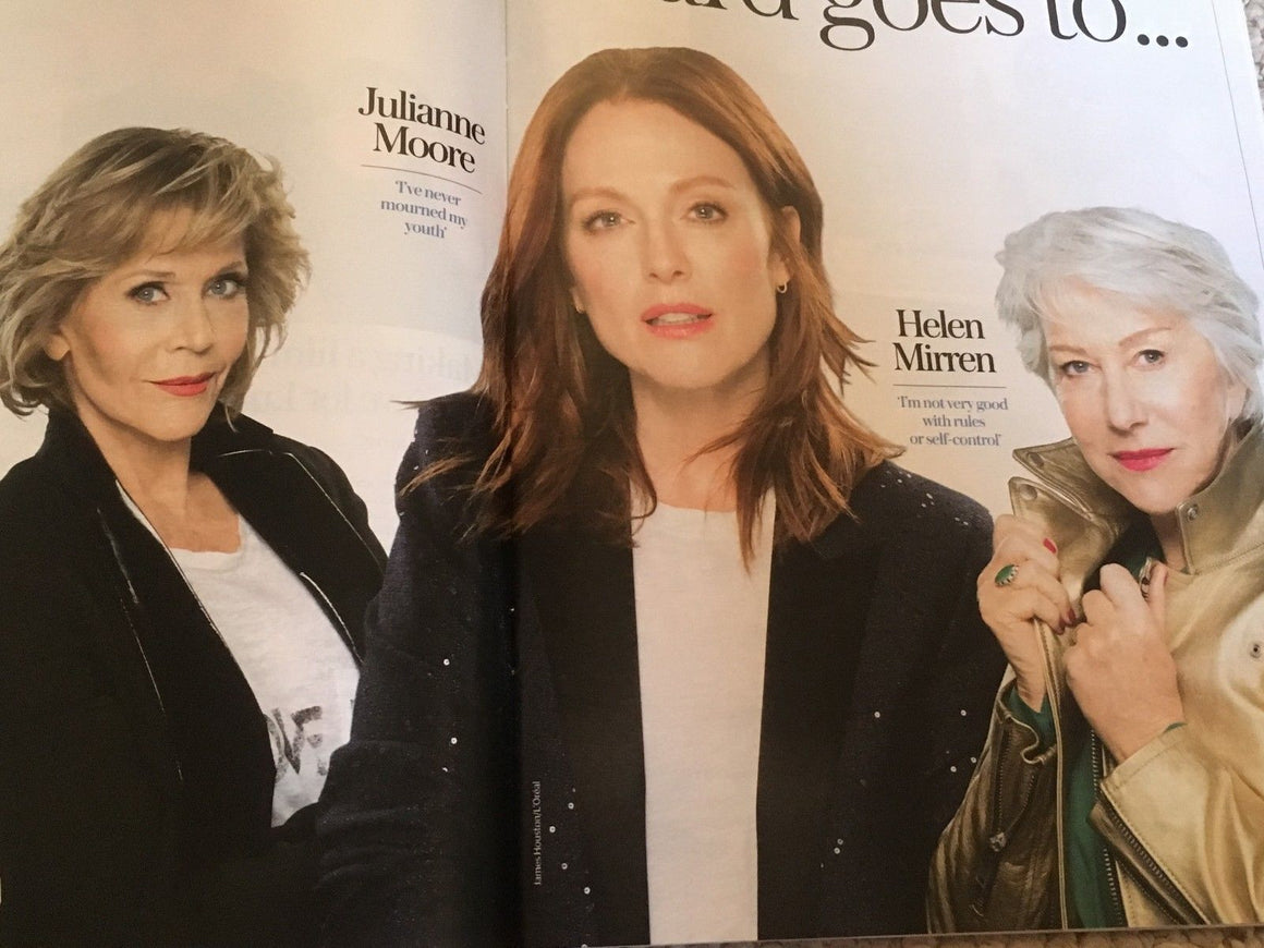 UK Stella Magazine July 2018: HELEN MIRREN Jane Fonda JULIANNE MOORE