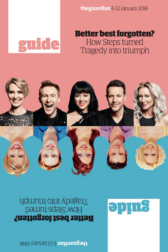 UK Guardian Guide JANUARY 2018: STEPS UK Photo Cover Exclusive Interview