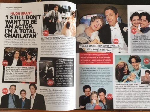 JENNIE McALPINE interview HUGH GRANT Colin Firth UK 1 DAY ISSUE January 2018