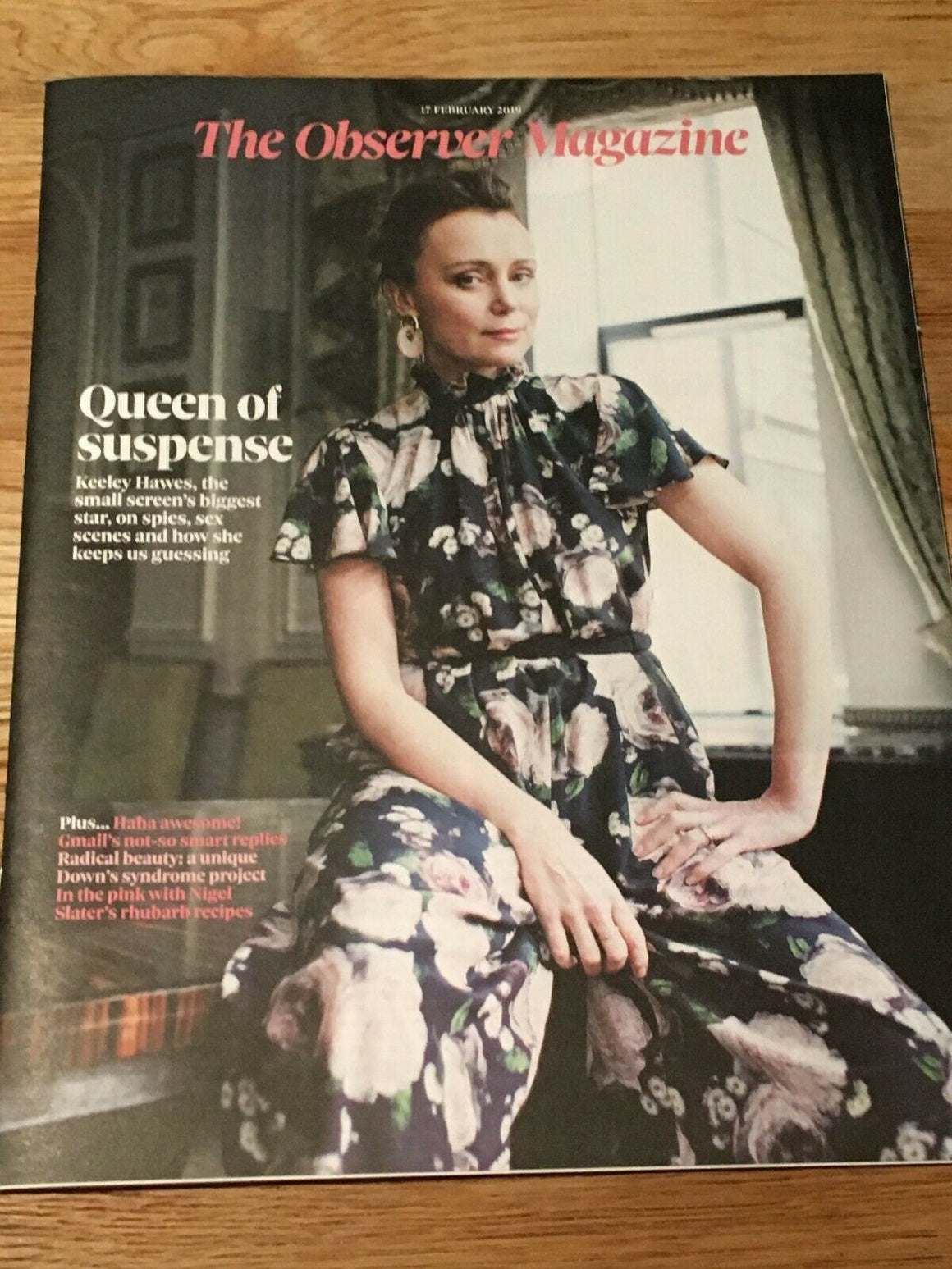 UK OBSERVER Magazine FEB 2019: KEELEY HAWES COVER STORY FEATURE