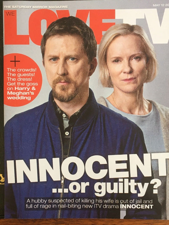 Love TV Magazine May 2018: Lee Ingelby Hermione Norris Neil Dudgeon Nick Hendrix