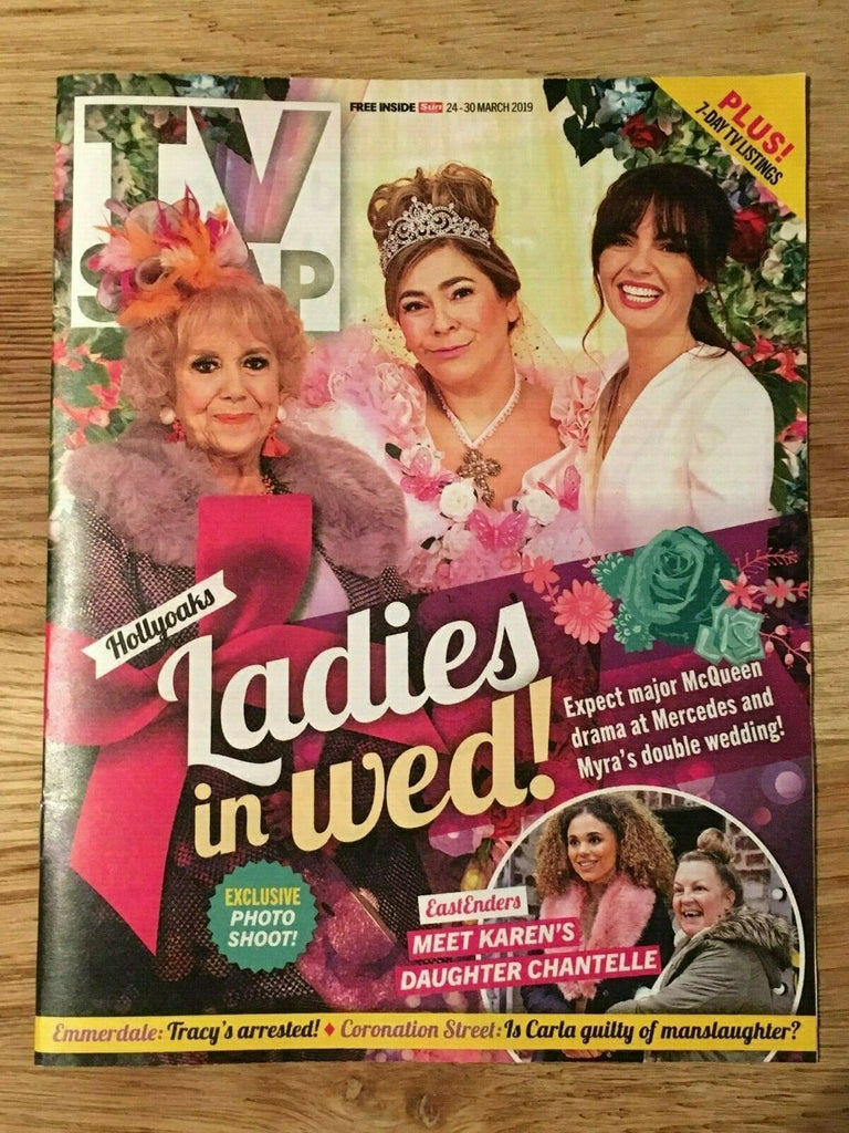 TV Soap Magazine 24 March 2019: Jennifer Metcalfe Katie McGlynn Jay Kontzle