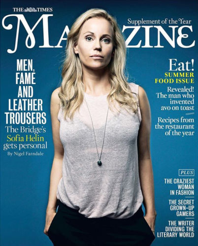 UK Times Magazine May 2018: The Bridge SOFIA HELIN COVER STORY