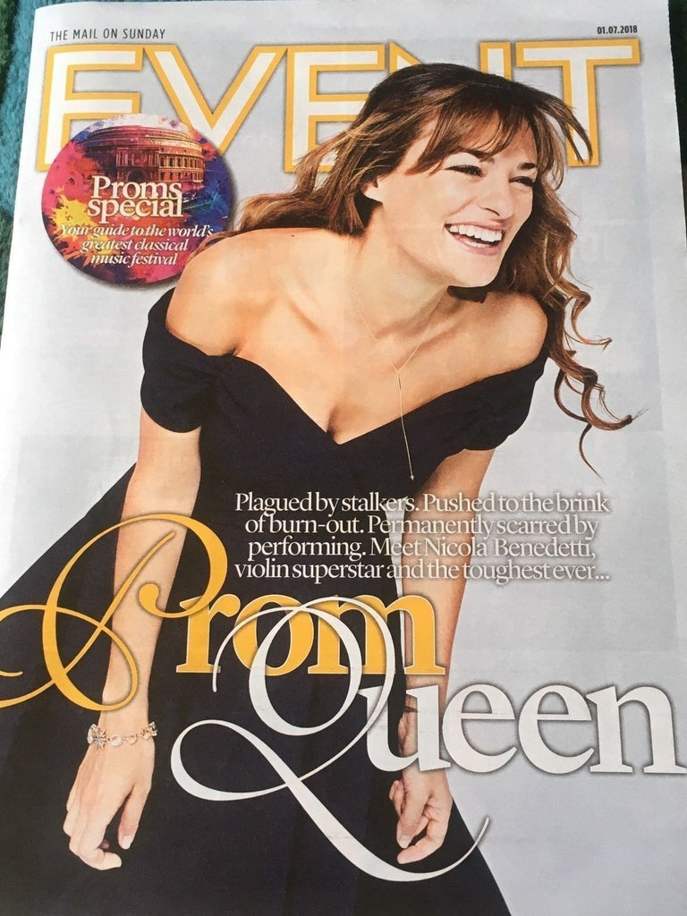 Event Magazine July 2018: Nicole Benedetti Michael Ball Georgia Mann Sam Claflin