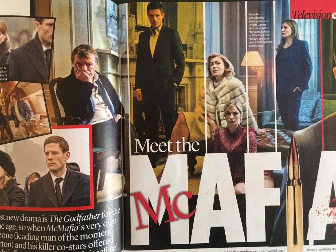 Event Magazine December 2017 James Norton Hugh Jackman Liam Gallagher McMafia