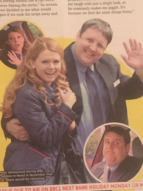 SUN TV Magazine MAY 2018: PETER KAY Sian Gibson BEN WHISHAW Georgia Taylor