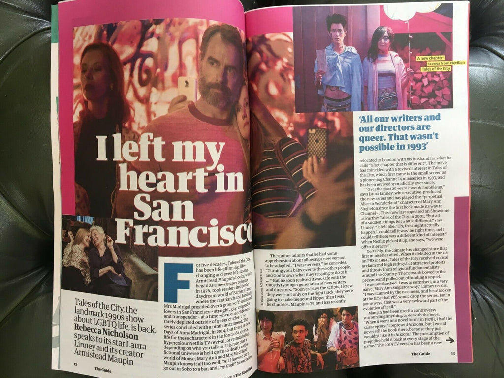UK GUIDE Magazine June 2019: Tales of the City (Laura Linney) Caroline Quentin
