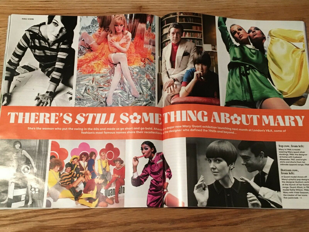 UK YOU Magazine March 2019: MARY QUANT Jean Shrimpton GRACE CODDINGTON