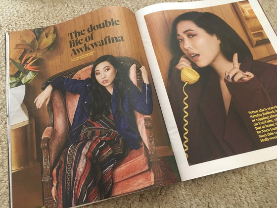 UK Observer Magazine June 2018: GEORGE CLINTON Awkwafina