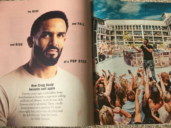 TIMES magazine 20 July 2019 - Lenny Kravitz - Craig David (exclusive interview)