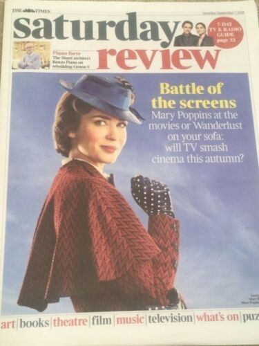 UK Times Review August 2018: EMILY BLUNT As MARY POPPINS ## Harris Dickinson