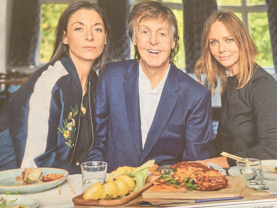 PAUL McCARTNEY interview LINDA UK 1 DAY ISSUE 2018