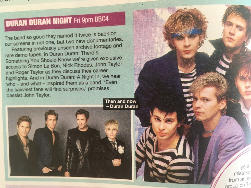 UK Love TV Magazine June 23 2018: Duran Duran JOHN TAYLOR Anna Richardson