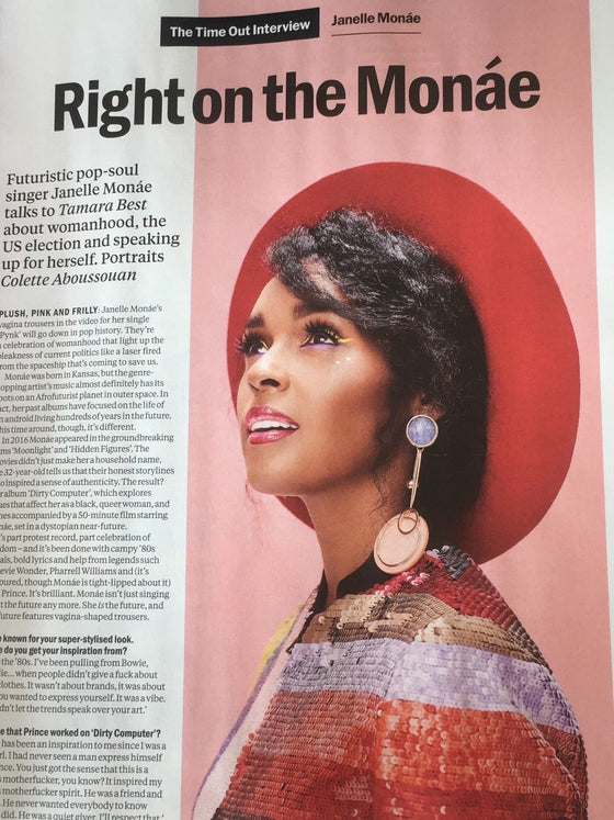 UK Time Out Magazine May 2018: JANELLE MONAE // SIR IAN MCKELLEN