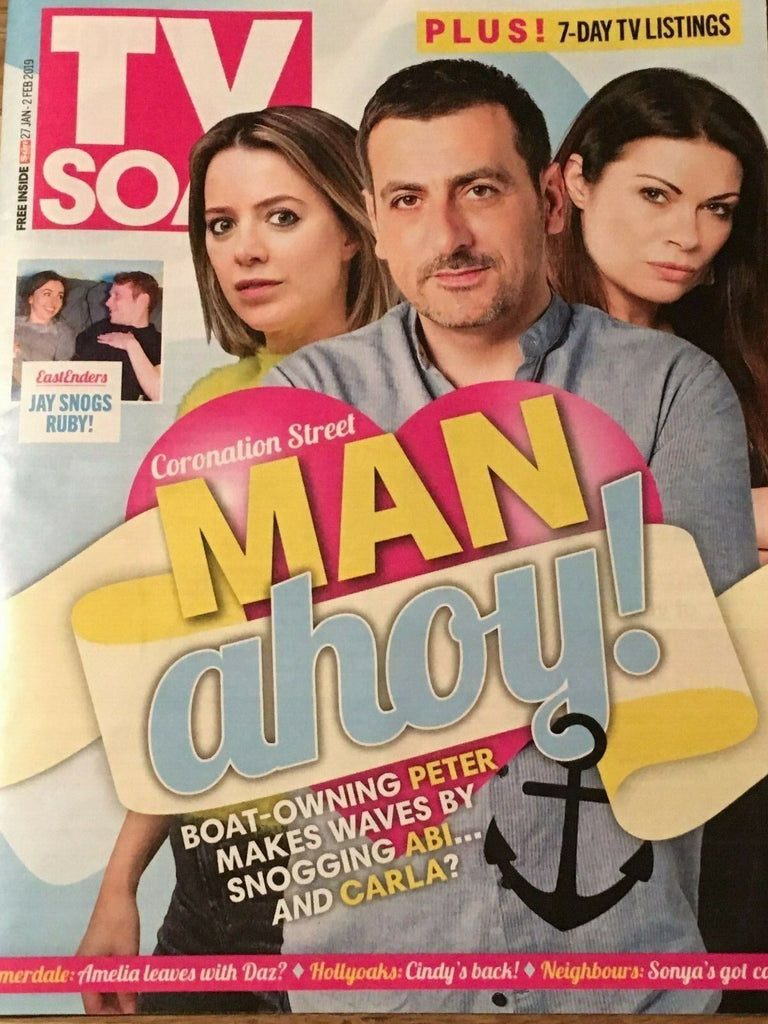 TV Soap Magazine 1/2019 Chris Gascoyne Harry Visinoni Nicola Wheeler Alison King