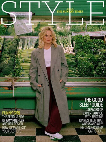 UK Style Magazine April 2019: AMY POEHLER COVER AND FEATURE