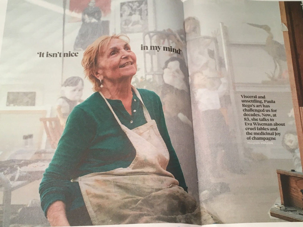UK Observer Magazine 11 November 2018: Paula Rego Robert De Niro