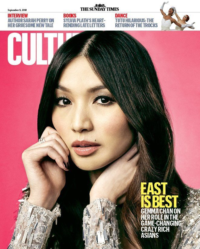 UK CULTURE MAGAZINE GEMMA CHAN COVER UK MAGAZINE SEPT 2018 Elizabeth McGovern