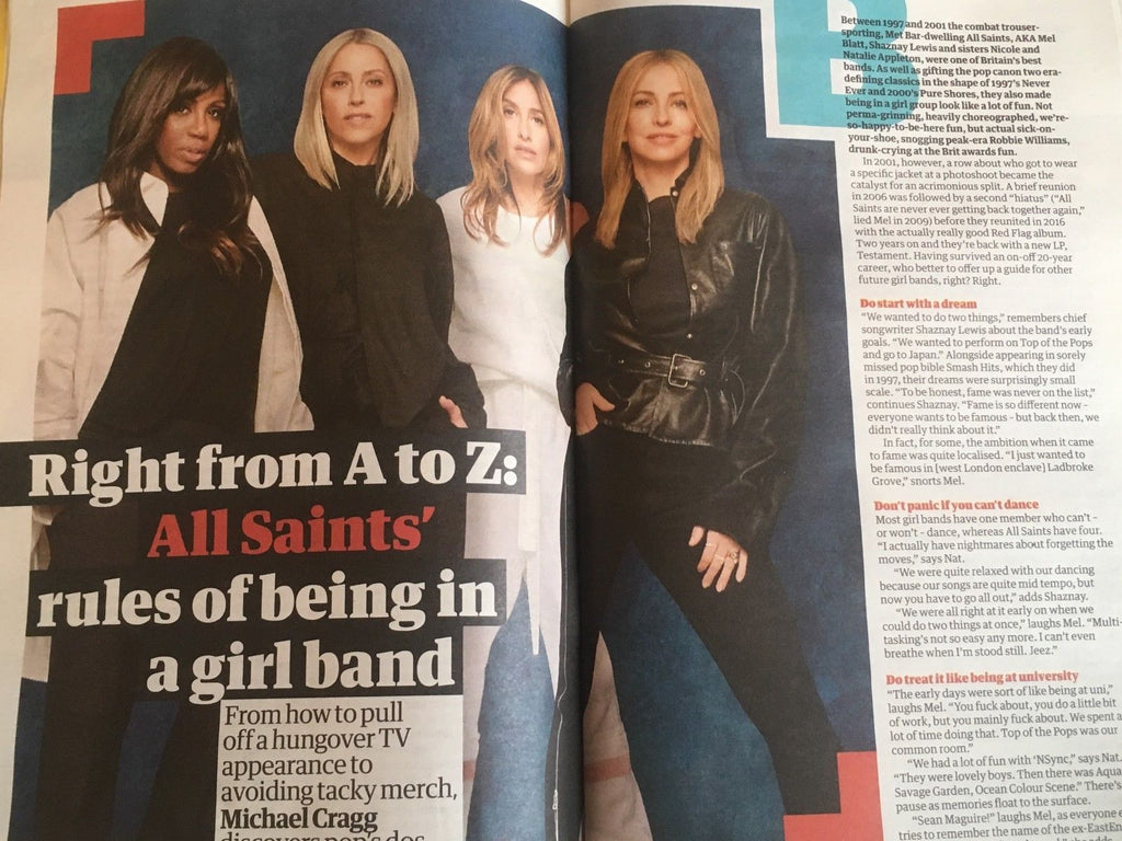 Guide Magazine July 2018: ALL SAINTS interview CHRISTINE BARANSKI John Nettles