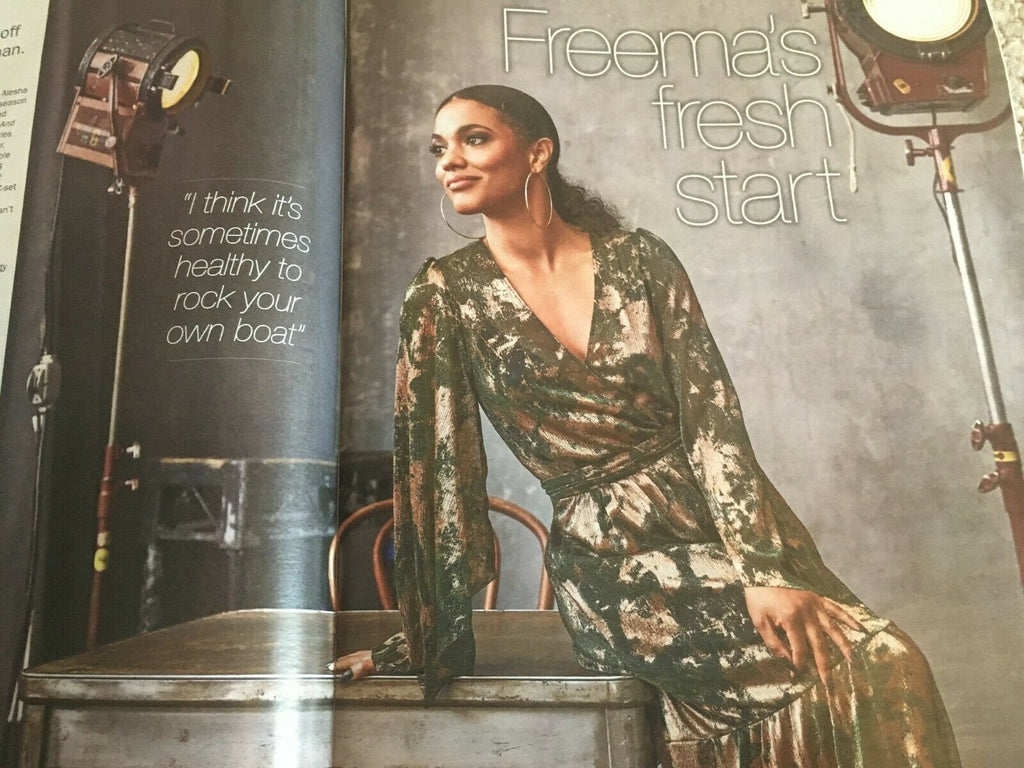 S EXPRESS Mag 08/2019: HILARY ROBERTS Freema Agyeman HOWARD HEWETT Boy George