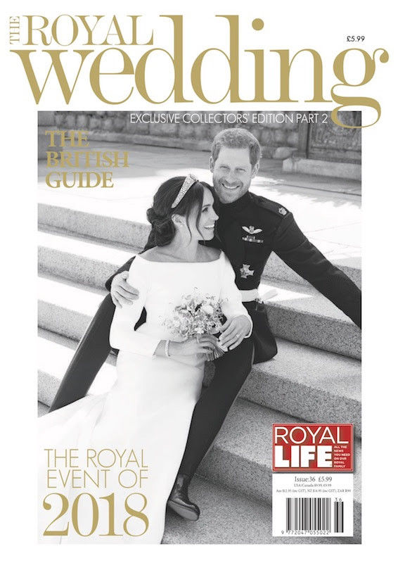MEGHAN MARKLE PRINCE HARRY ROYAL WEDDING SOUVENIR Royal Life Magazine Part 2