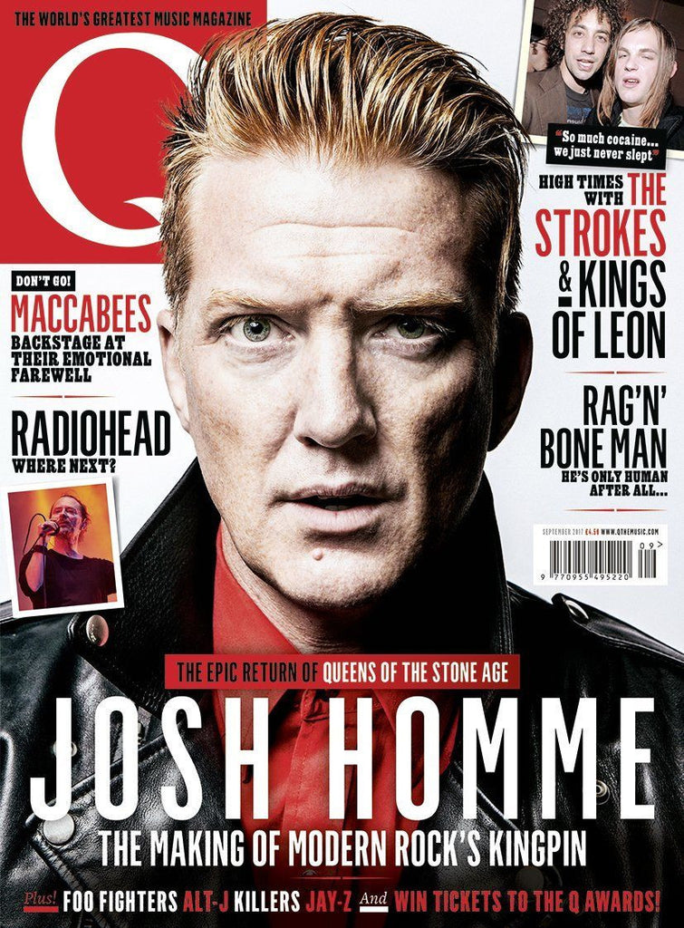 Q magazine September 2017 Josh Homme The Strokes Kings of Leon The Killers
