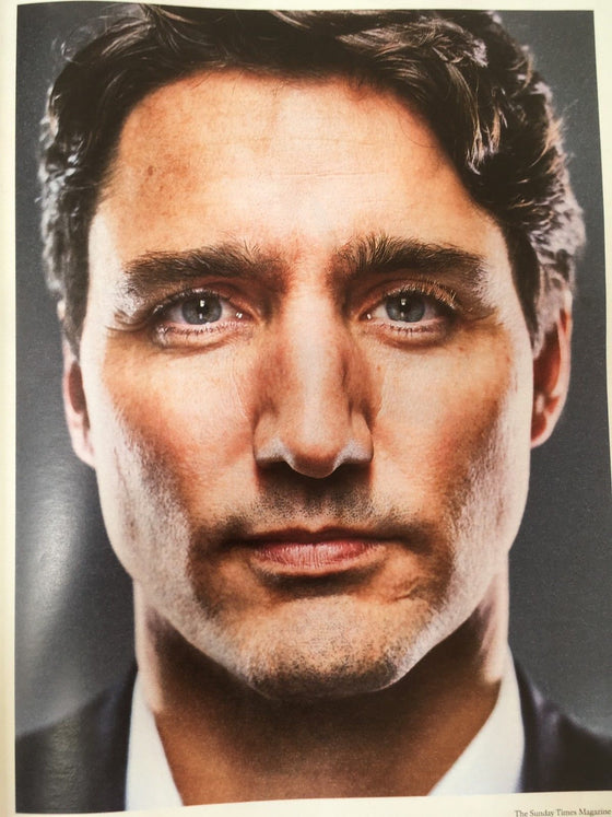 UK Sunday Times Magazine MARCH 2018: JUSTIN TRADEAU Prime Minister of Canada
