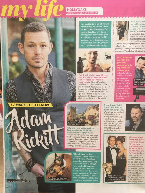 SUN TV Magazine 08/2018: ADAM RICKITT Grayson Perry JODIE WHITTAKER