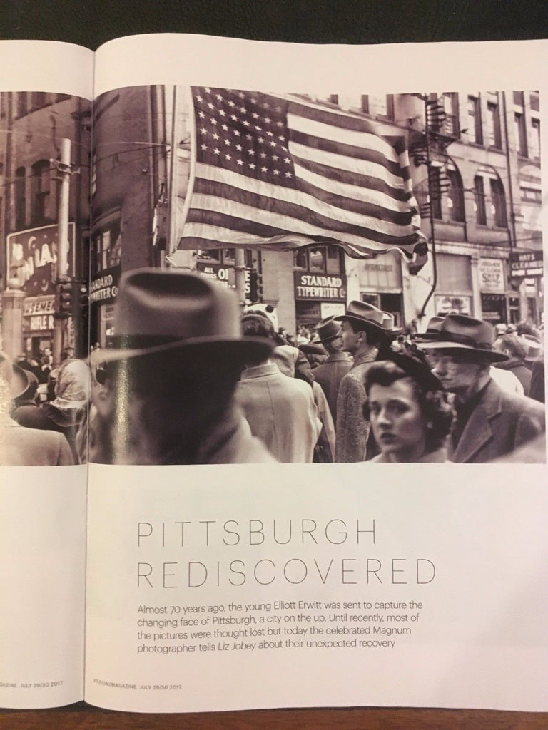 FT Weekend Magazine - July 29 2017 Elliott Erwin In Pittsburgh YolanDa Brown